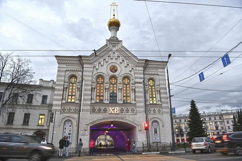 В Знаменской башне в центре Ярославля установили автоматический контроль за освещением