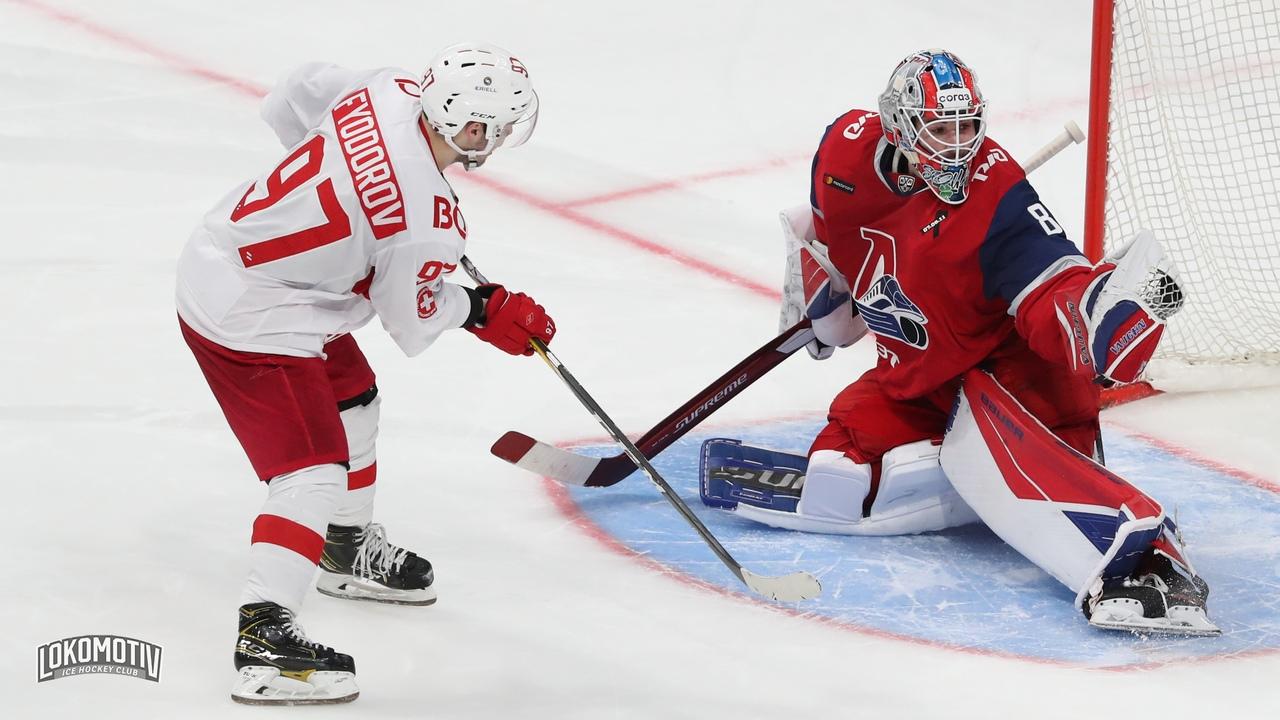 «Локомотив» одержал седьмую победу подряд в КХЛ
