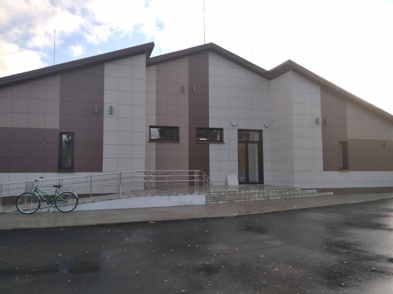 Завершен капитальный ремонт Коптевского сельского клуба в Мышкинском районе