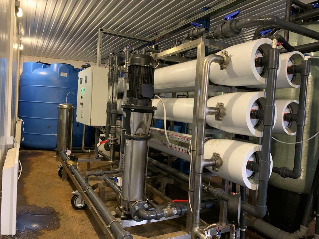 Под Ярославлем на полигоне «Скоково» запустили в работу новую станцию очистки фильтрата