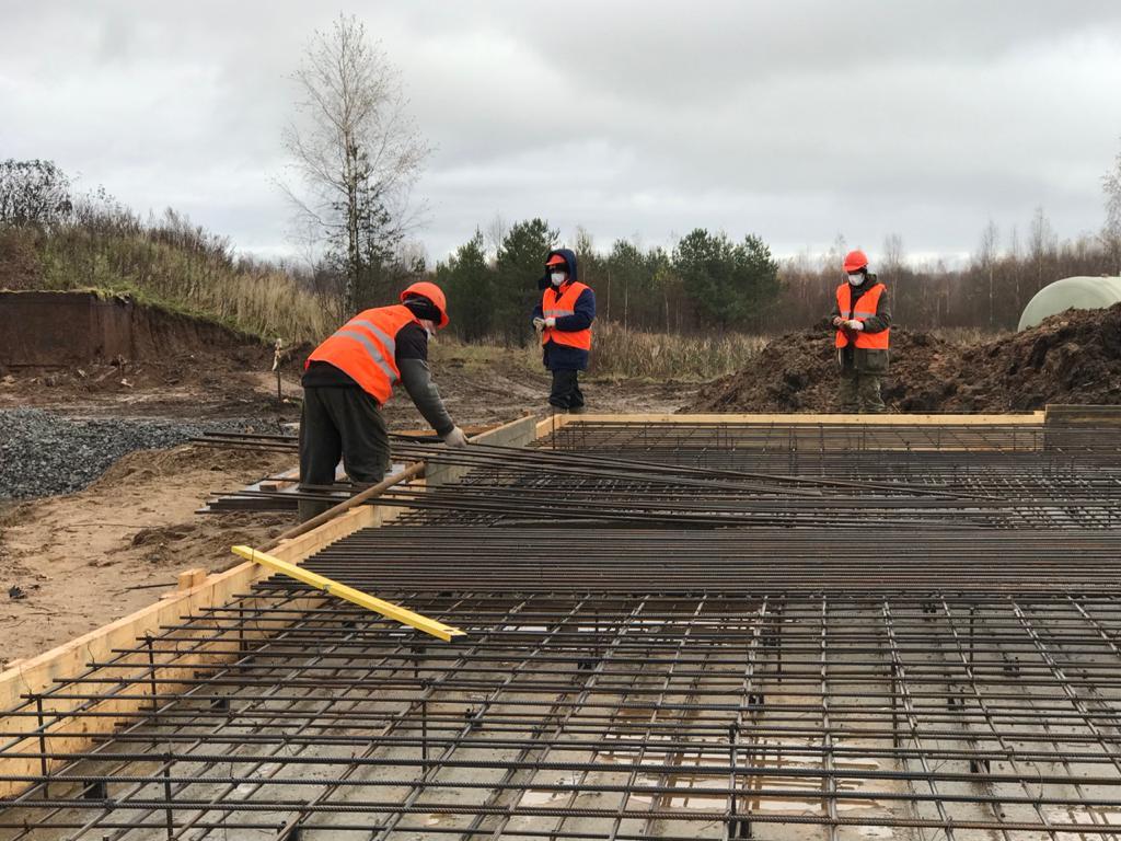 Продолжается строительство очистных сооружений в поселке Тихменево Рыбинского района