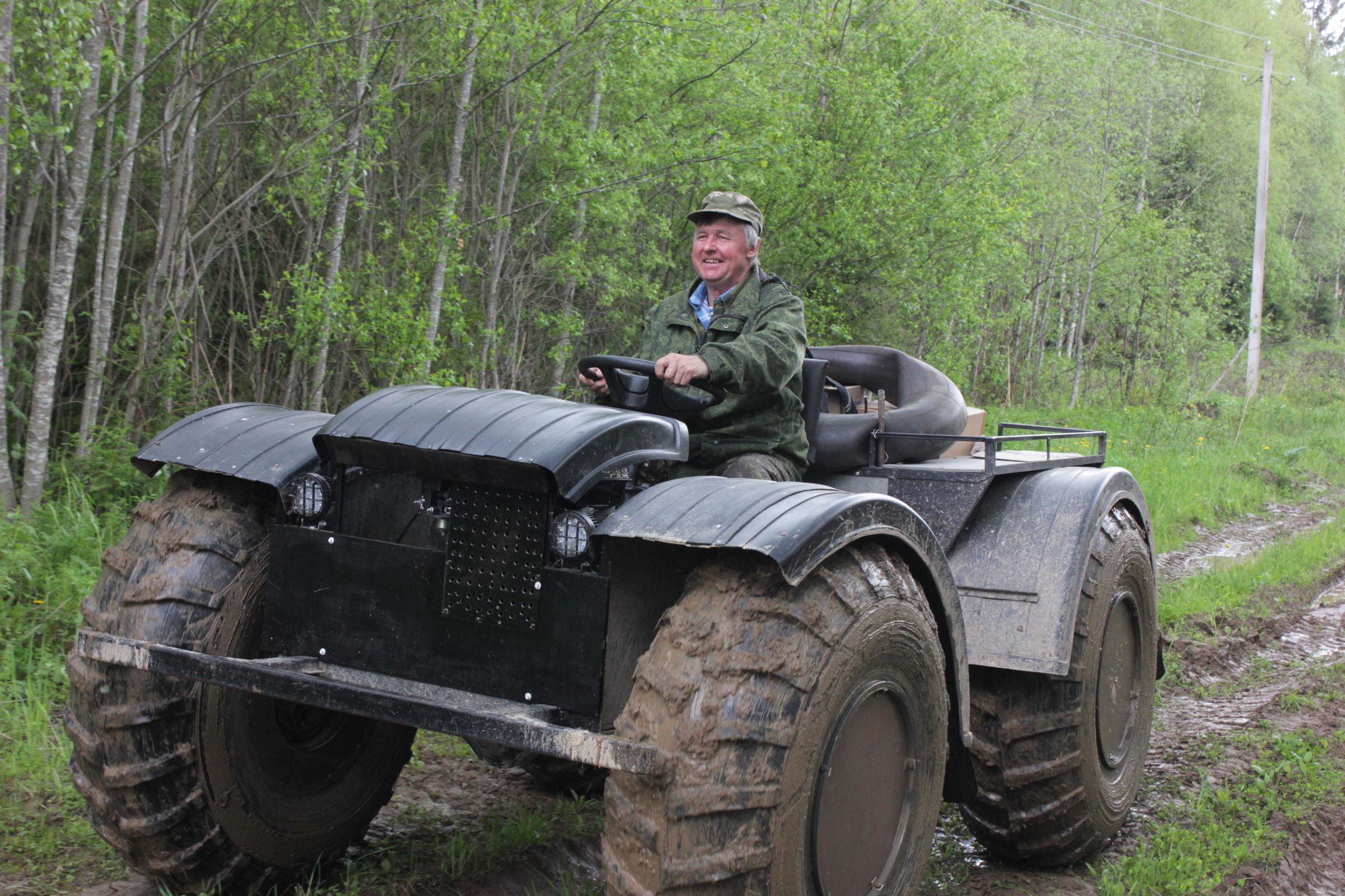 Ярославцы могут поддержать «почтового Рэмбо» на вездеходе во всероссийском проекте «Героям – быть!»