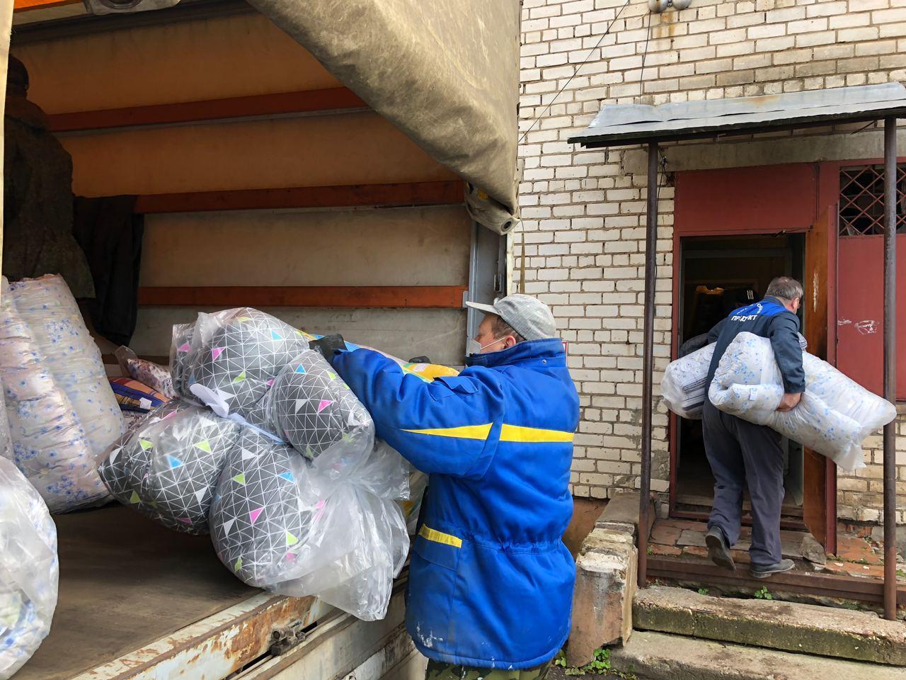 Тутаевская больница получила гуманитарную помощь для лечения больных COVID-19