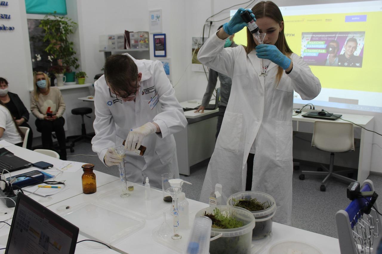 Ярославские участники форума «ПроеКТОриЯ» решали кейсы по фармацевтике
