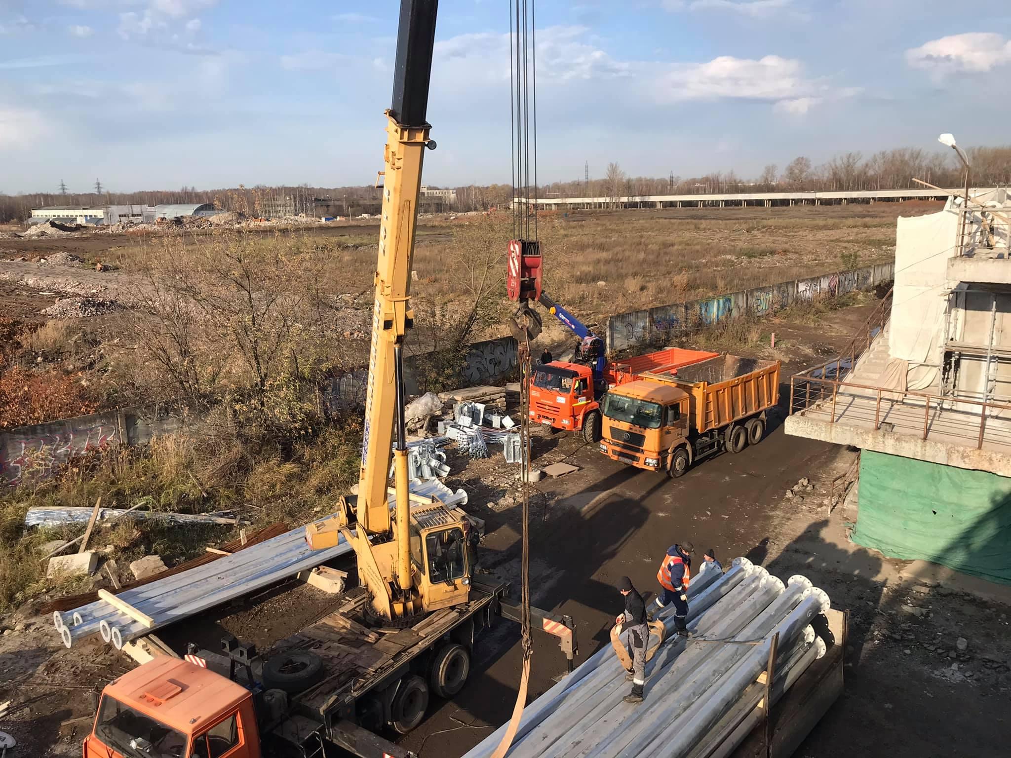 В Ярославле начались испытания Добрынинского моста