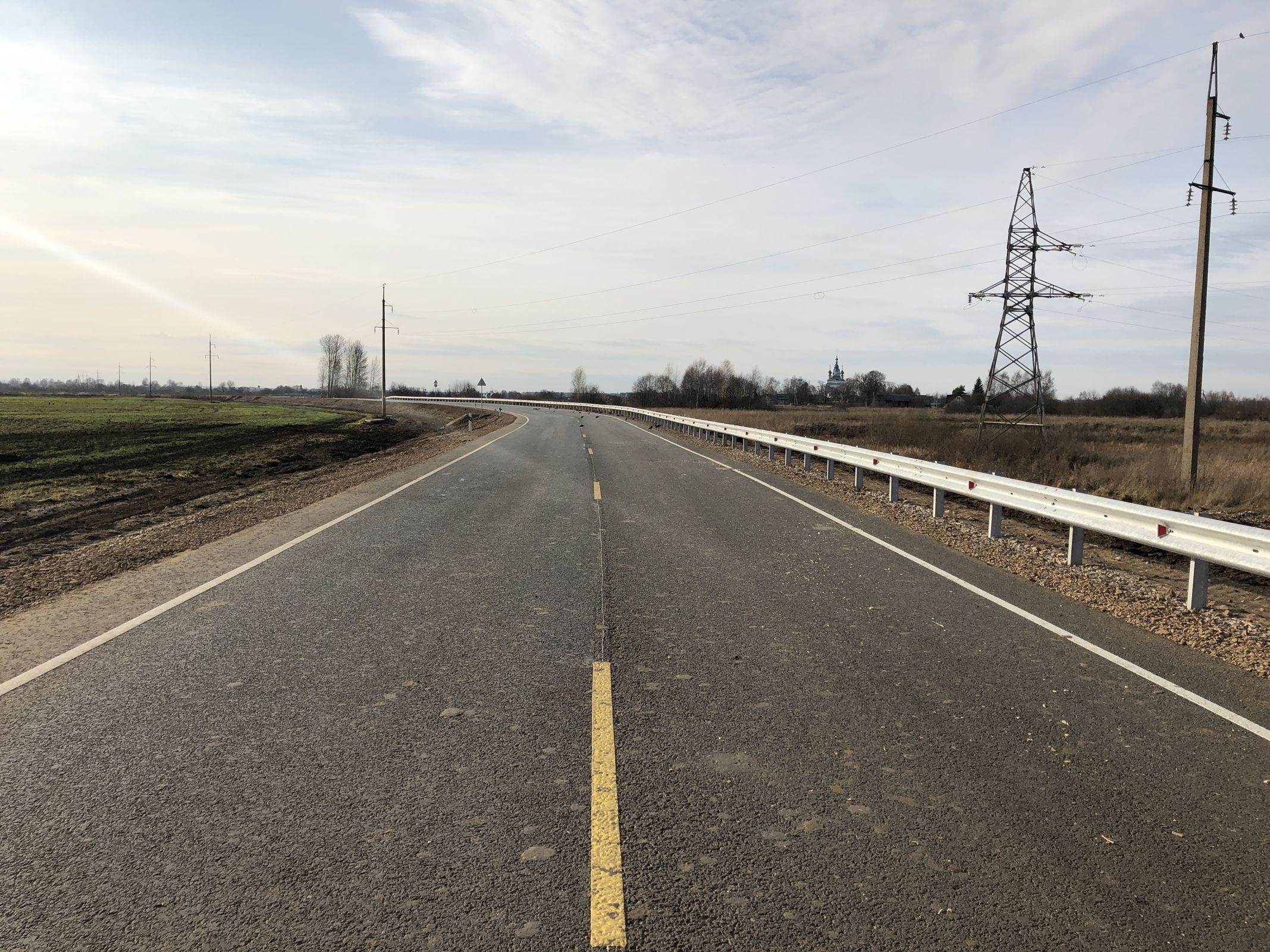 Реконструированы мост и участок дороги от села Савинского до крупной фермы в Ростовском районе