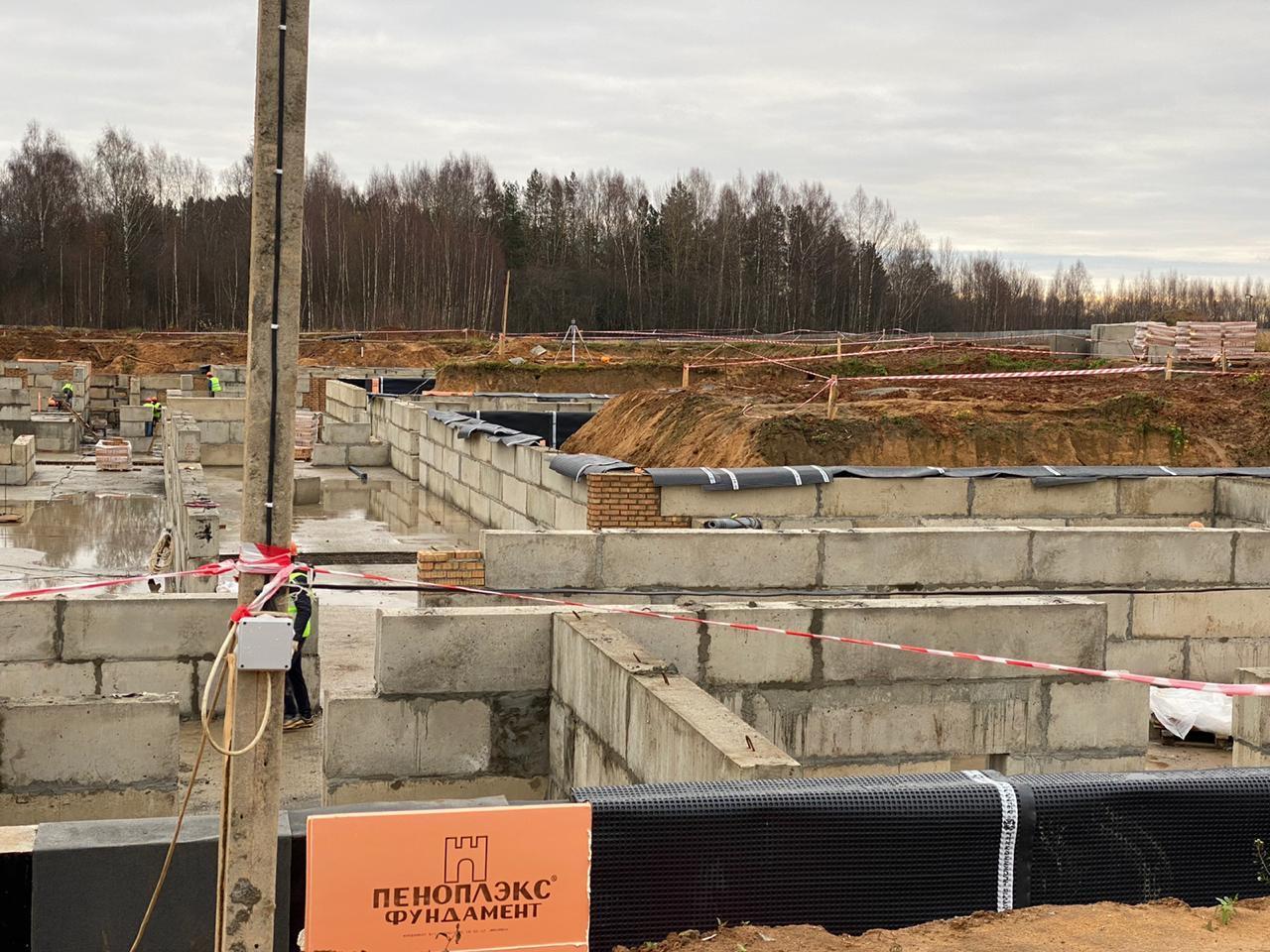 В Ярославской области строят спальный корпус для ветеранов на 128 мест