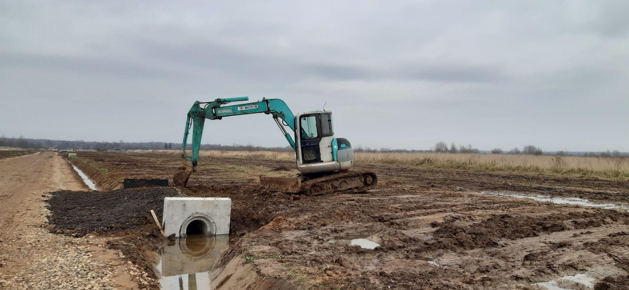 Более 200 молодых и многодетных семей смогут начать строительство на своих земельных участках в деревне Глебовское