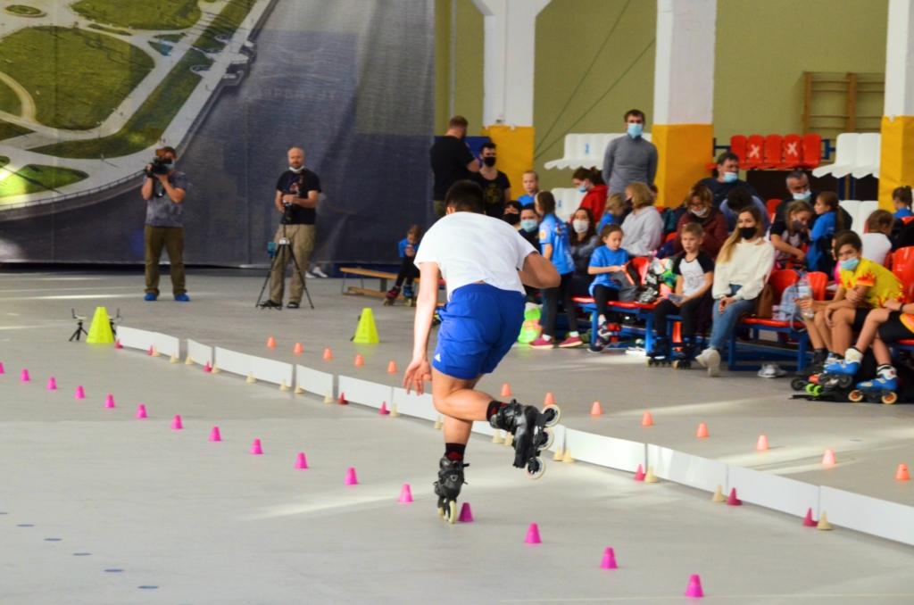 В Ярославле проходят всероссийские соревнования по роллер-спорту