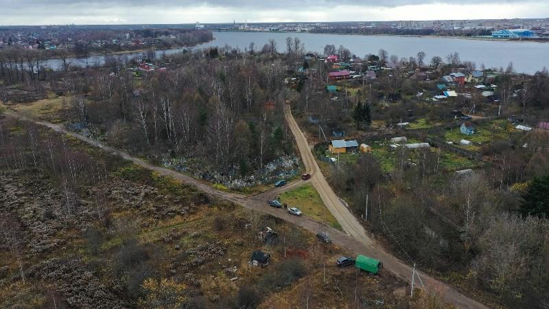 В Рыбинске ремонтируют дорогу к памятнику археологии «Усть-Шексна»