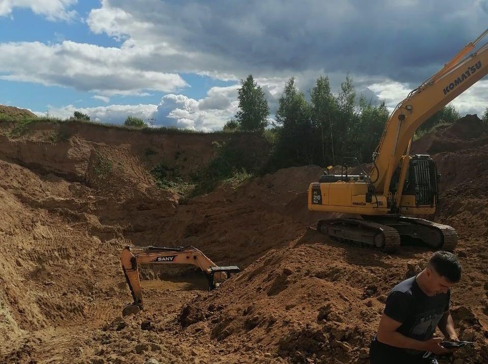 Предприятие в Ярославской области оштрафовали на 150 тысяч за незаконную разработку карьера