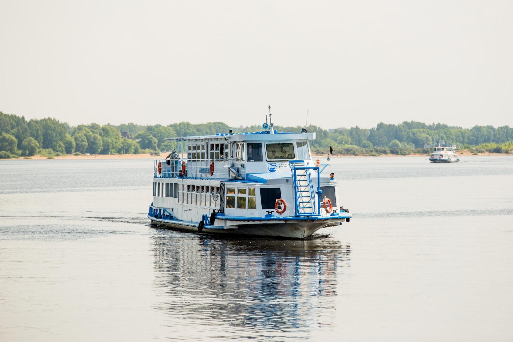 Более 360 тысяч пассажиров перевезли в Ярославской области за период водной навигации 2020 года