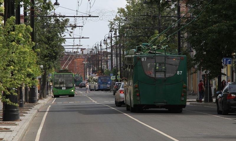 В Рыбинске закрыли временный троллейбусный маршрут №7