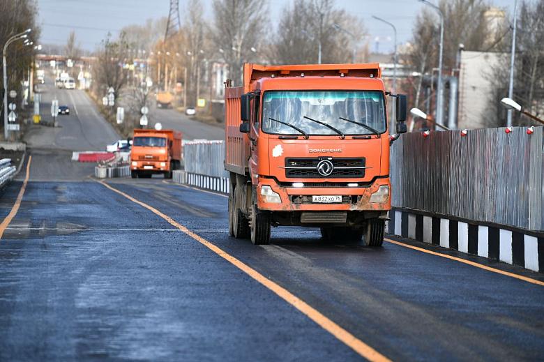 В Ярославле открывают движение по Добрынинскому мосту