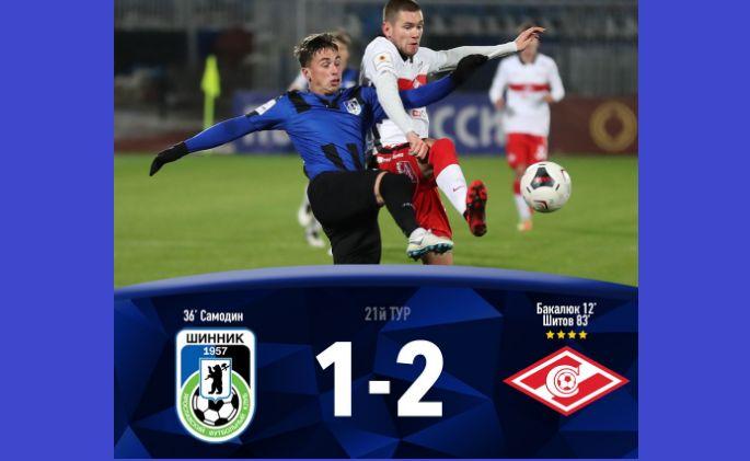 «Шинник» проиграл первый матч при новом тренере