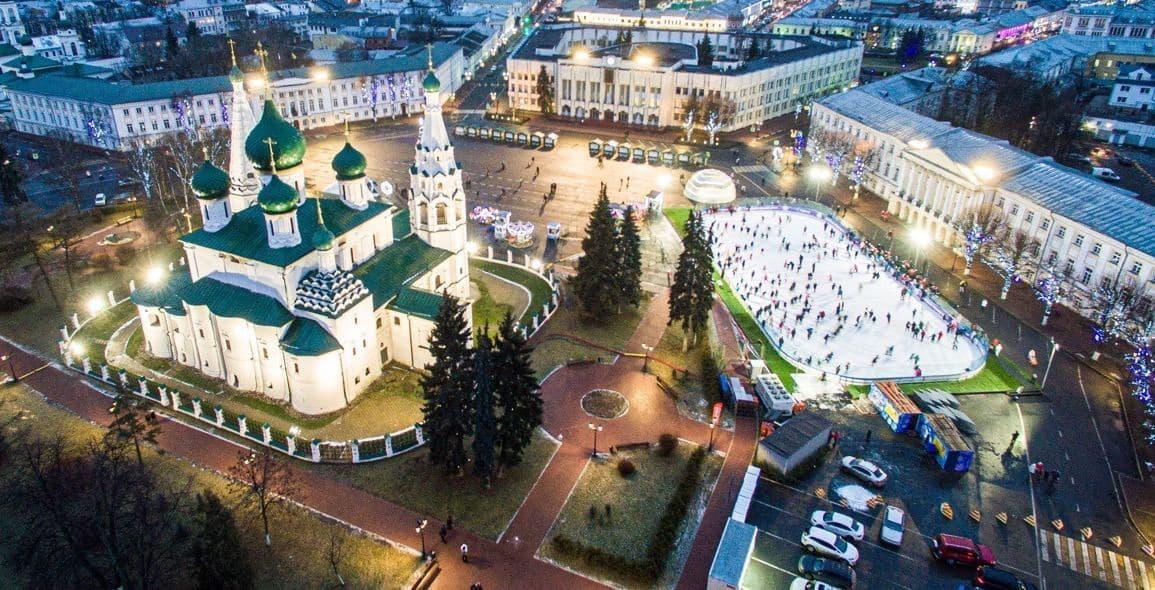 В этом году на Советской площади Ярославля не откроется ледовый каток