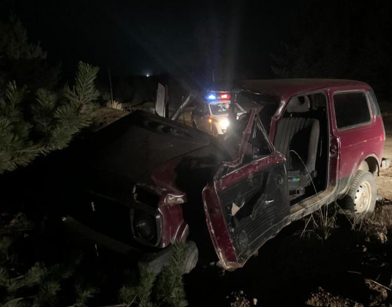 В Ярославской области в ДТП погиб водитель перевернувшейся «Нивы»