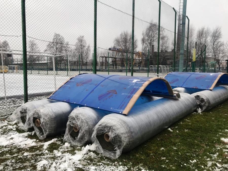 В рыбинской школе появится новое футбольное поле