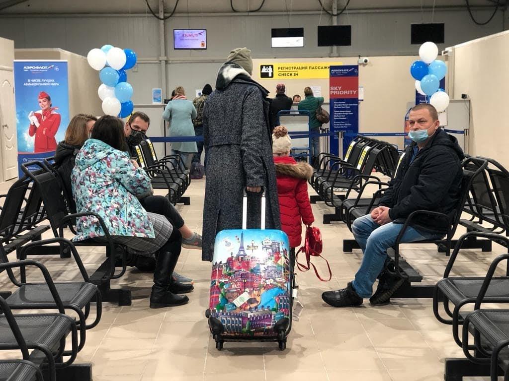 В аэропорту Туношна открыли новую зону вылета