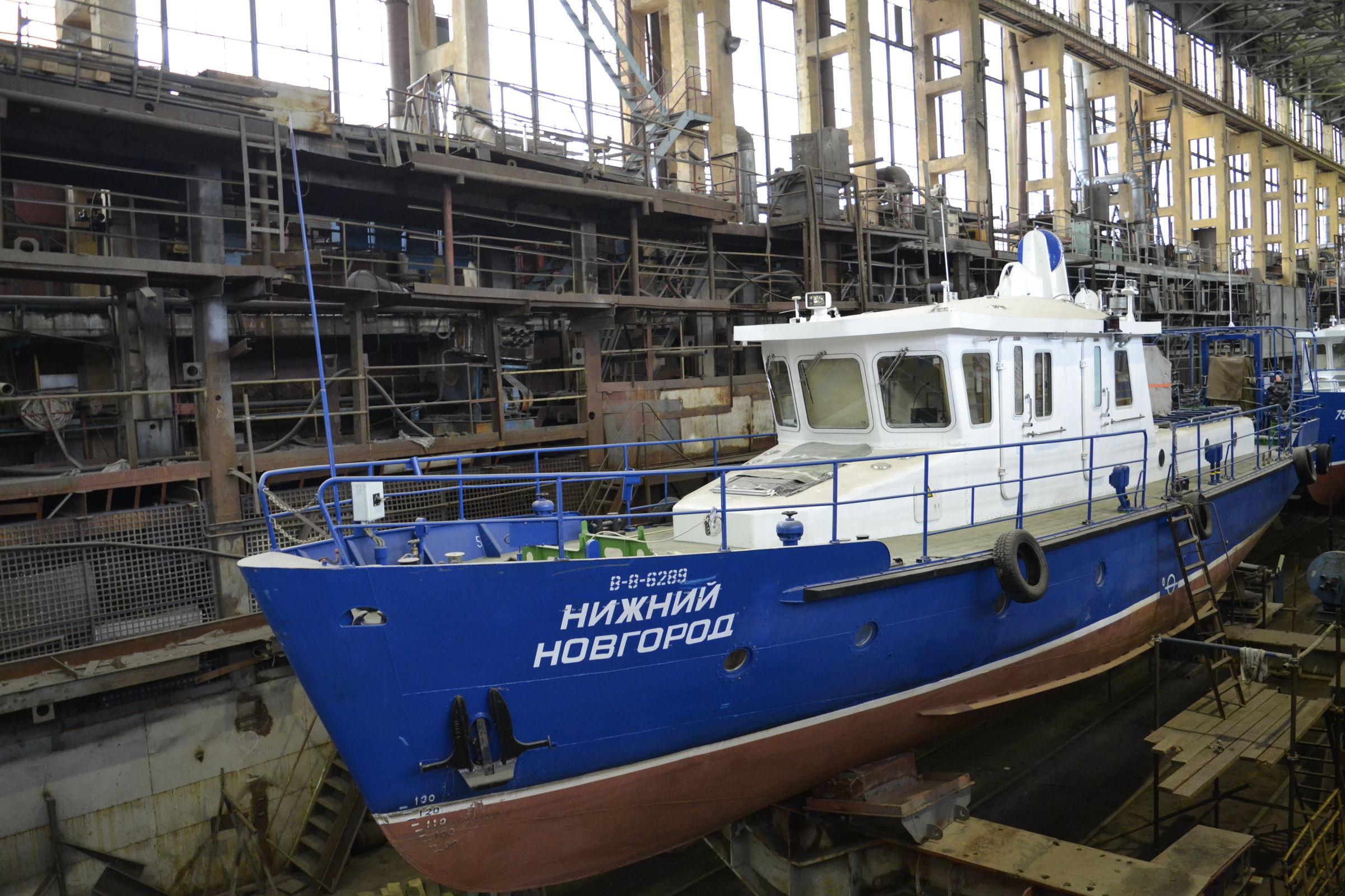 Дмитрий Миронов поздравил судостроительный завод со столетием
