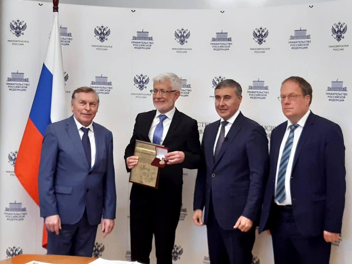 Руководитель ярославского педагогического университета стал лауреатом премии «Ректор года»