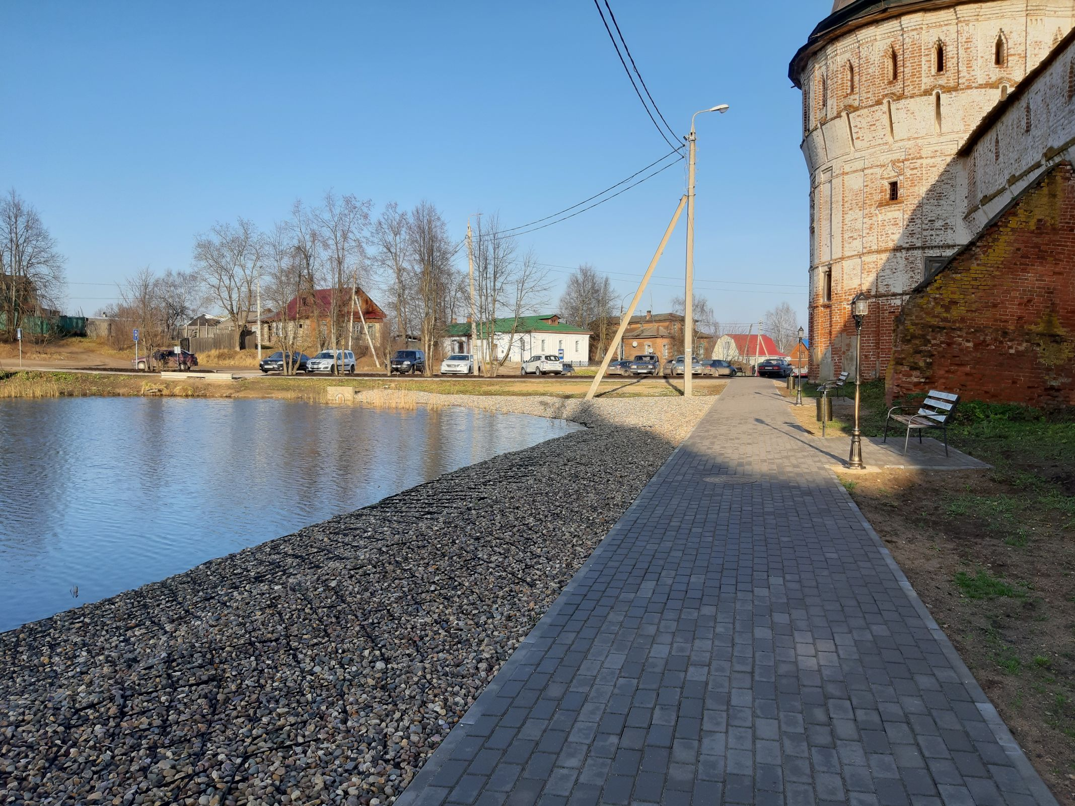 Благоустройство территории в поселке Борисоглебский завершат в 2021 году