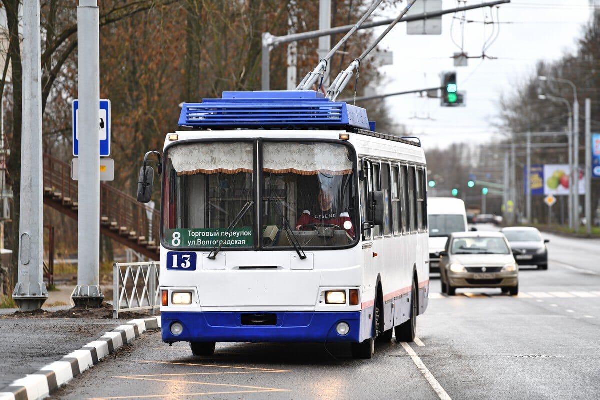 Троллейбусы вернут на Тутаевское шоссе в Ярославле с декабря