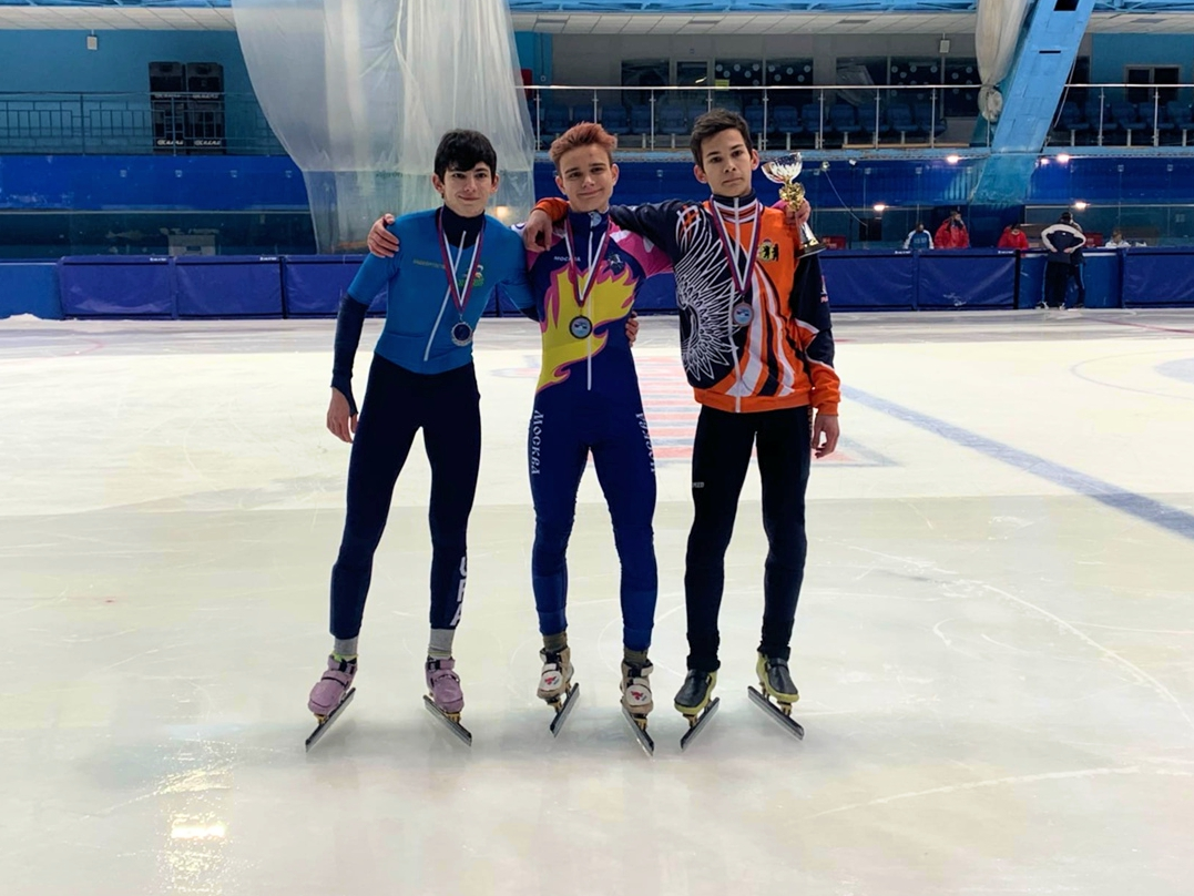 Конькобежцы из Ярославской области стали бронзовыми призерами всероссийских соревнований