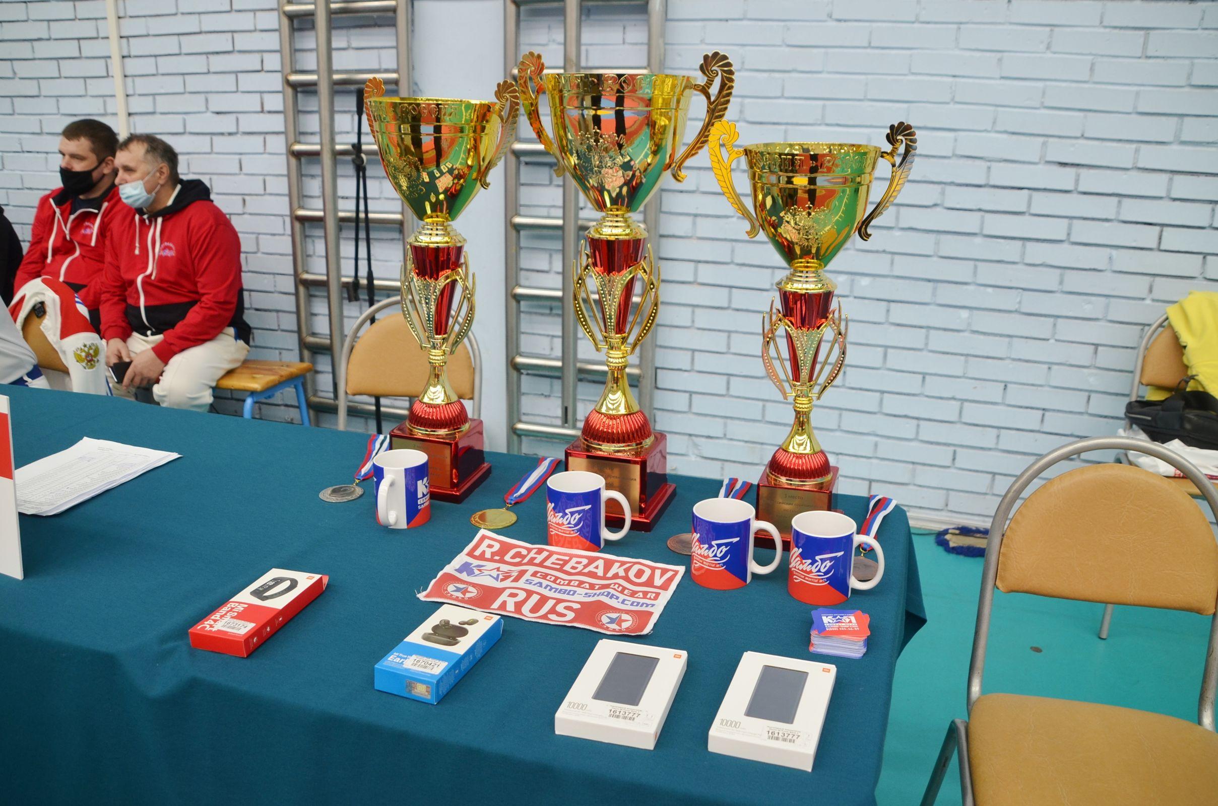 Сборная Ярославской области заняла второе место на турнире по самбо на Кубок губернатора