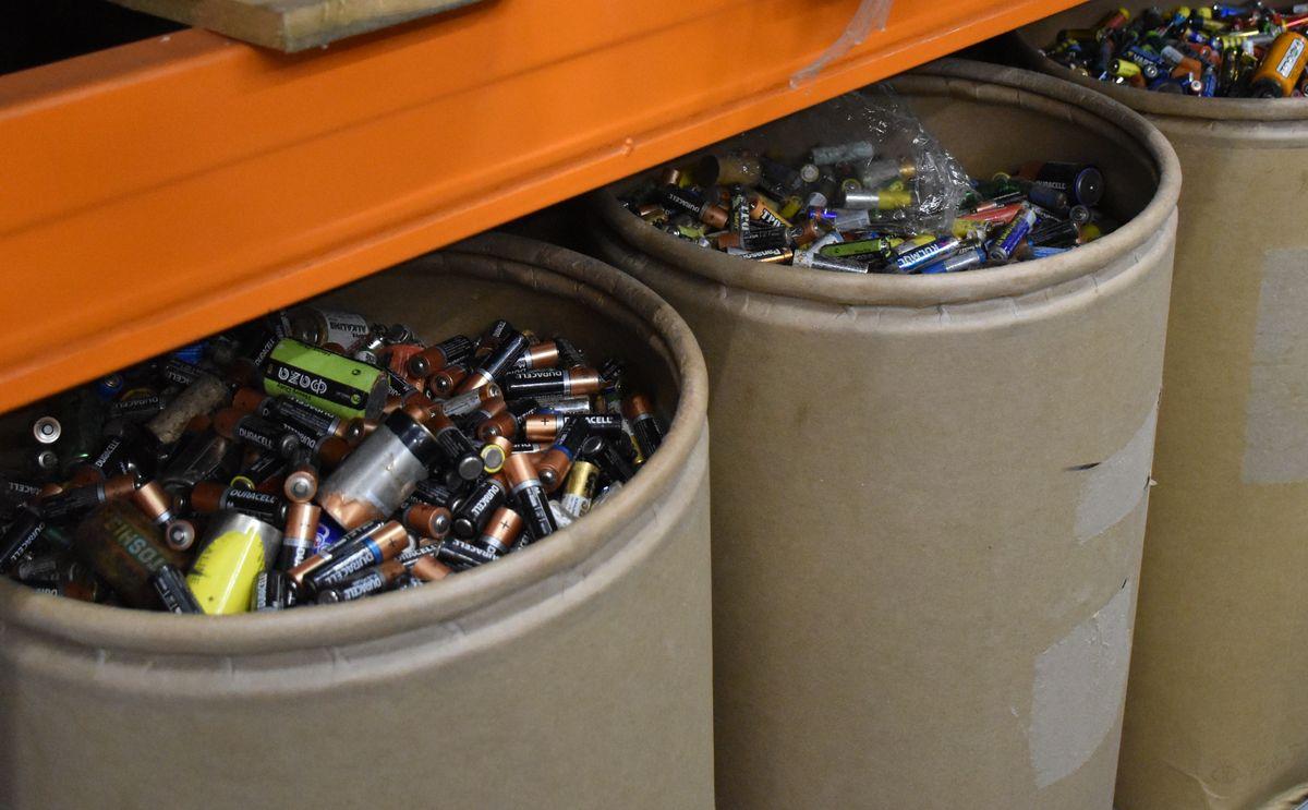 Около 10 тонн батареек направлено на переработку с начала года