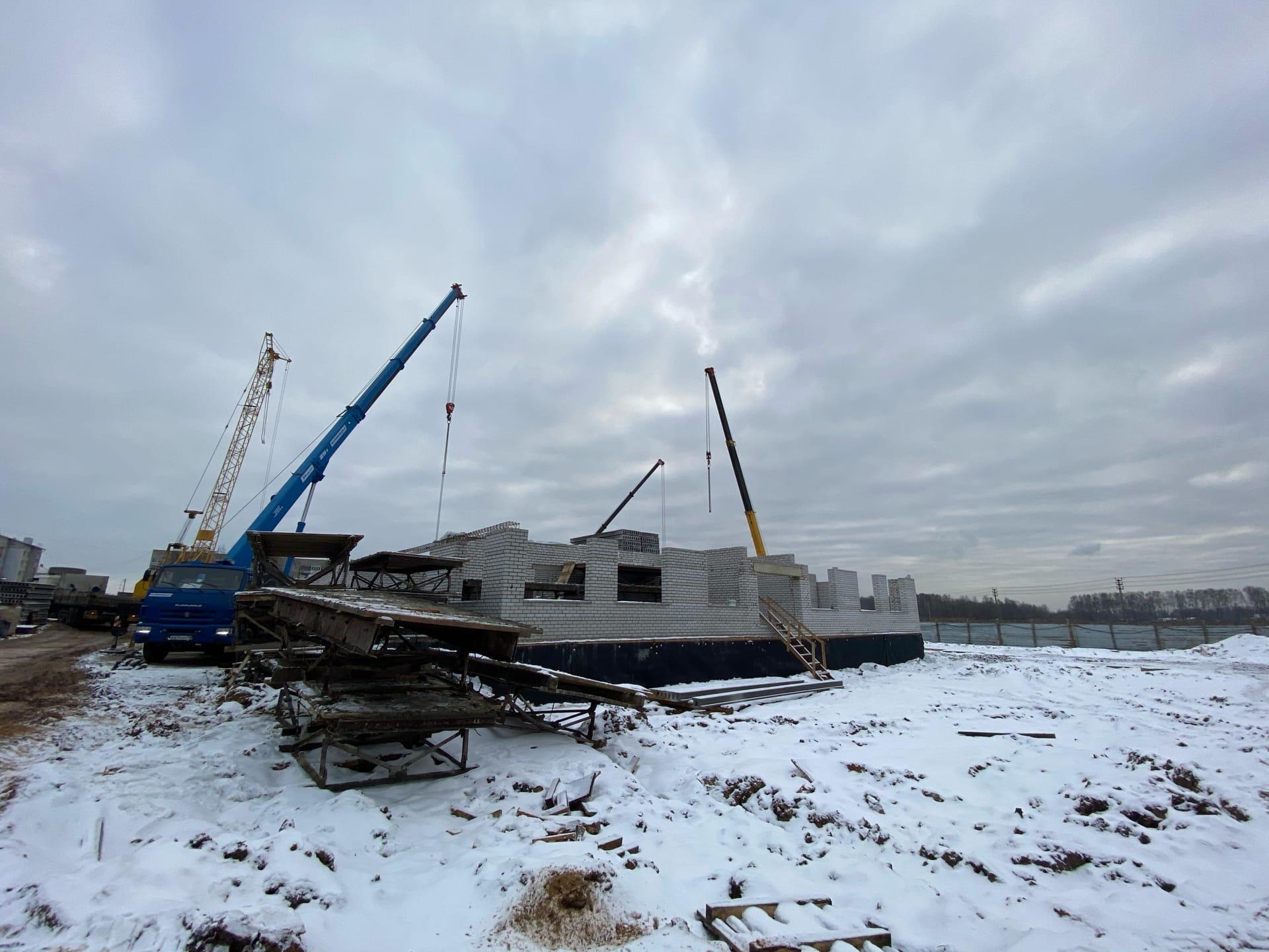 Строительство яслей в Кузнечихе идет с опережением графика