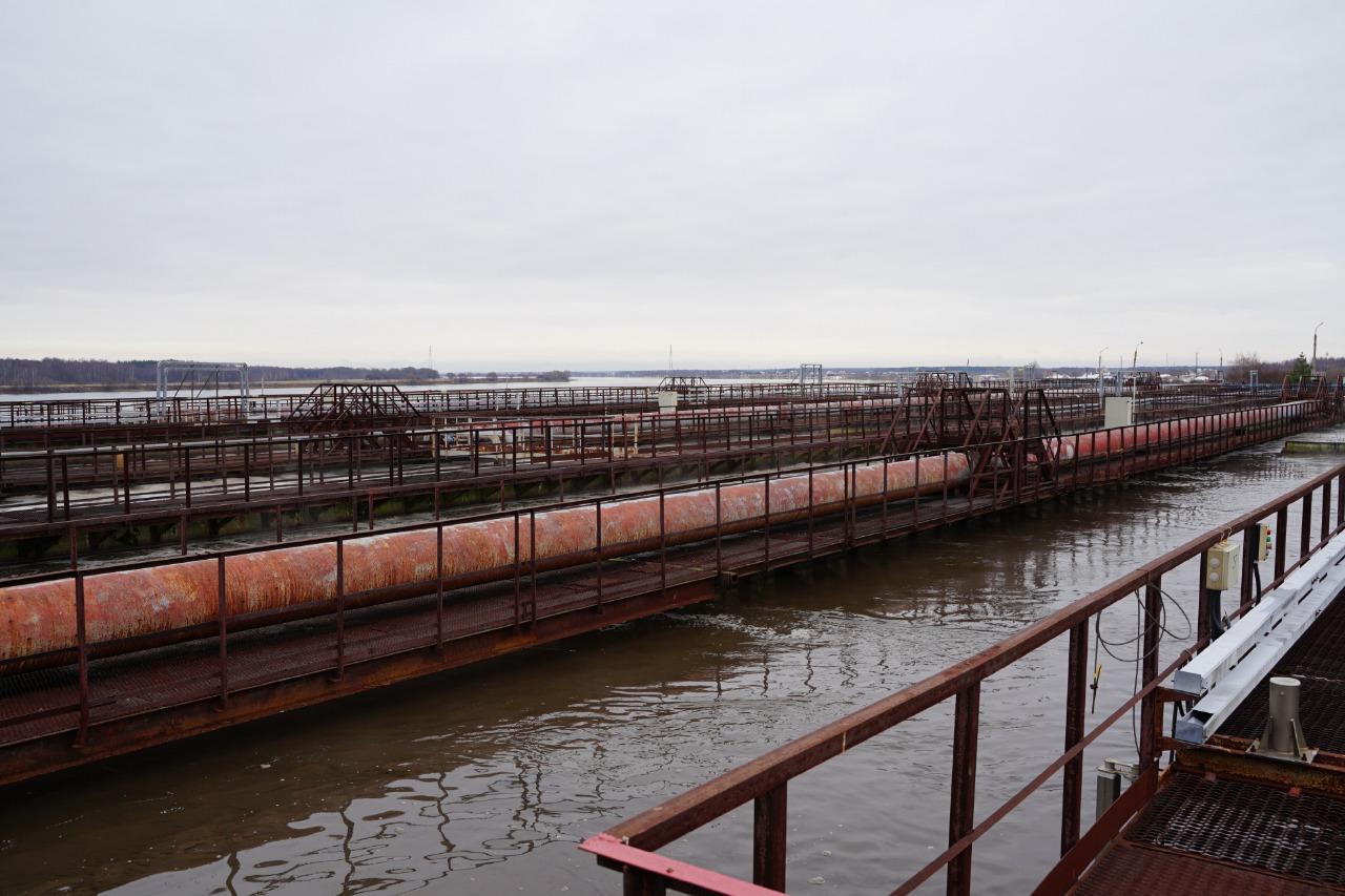 В Ярославле ведется реконструкция очистных сооружений канализации