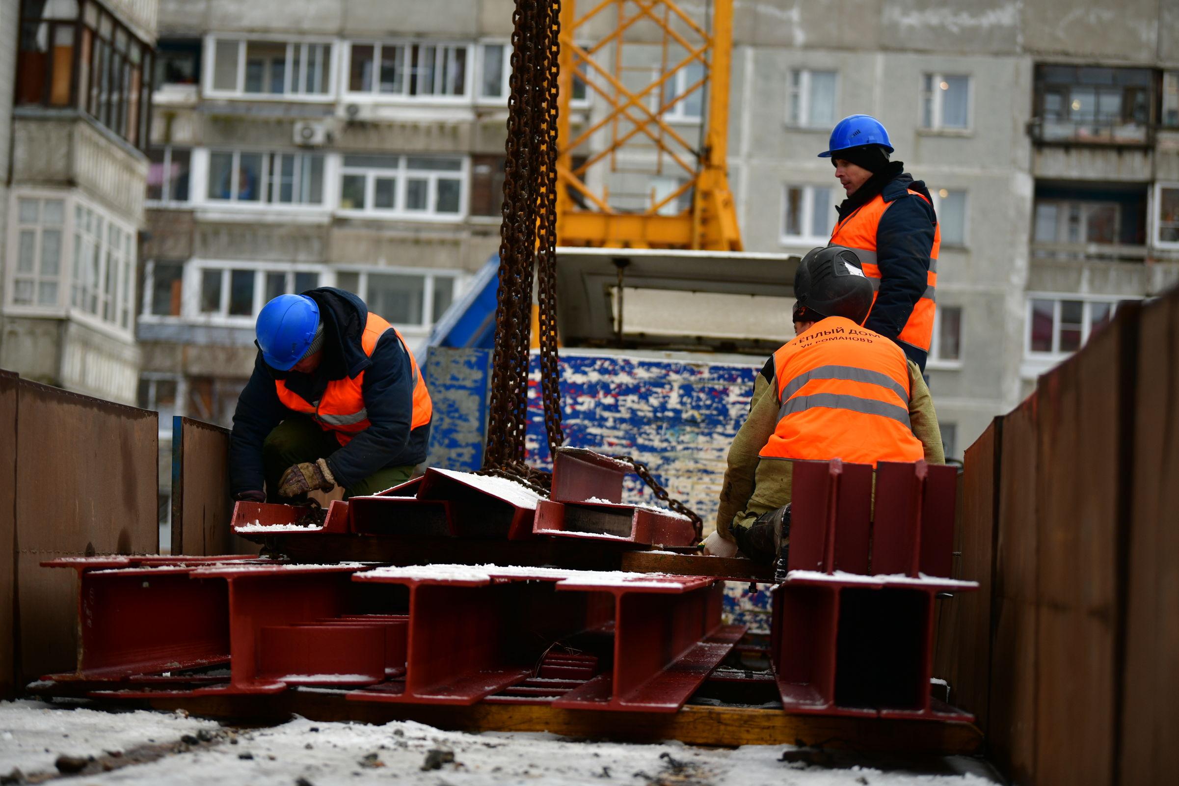 В пострадавшем от взрыва газа доме в Ярославле укрепят несущие конструкции