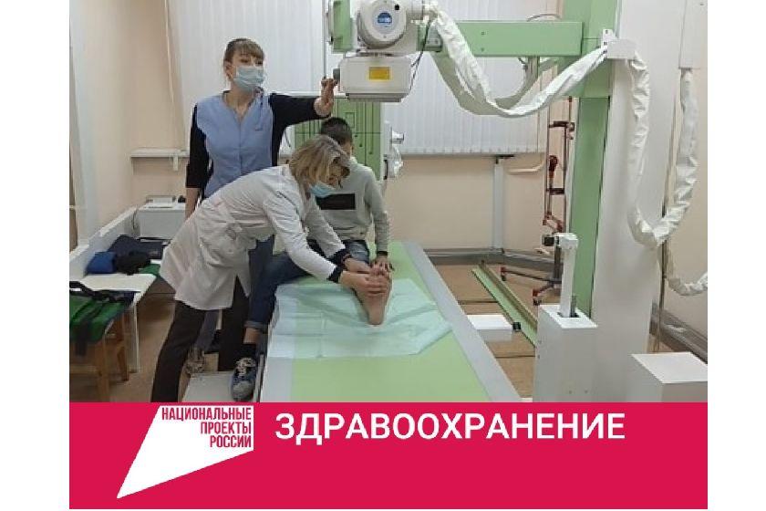 В детской поликлинике Центральной городской больницы Ярославля появился новый рентгеновский комплекс