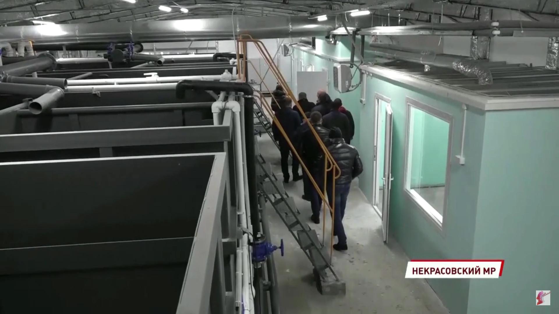 В поселке Красный Профинтерн закончили реконструкцию очистных сооружений
