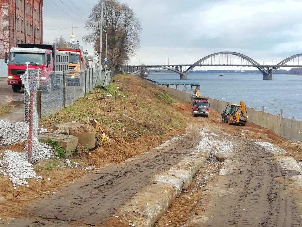 Берегоукрепление в Рыбинске защитит дома от подтоплений и снизит антропогенную нагрузку на Волгу