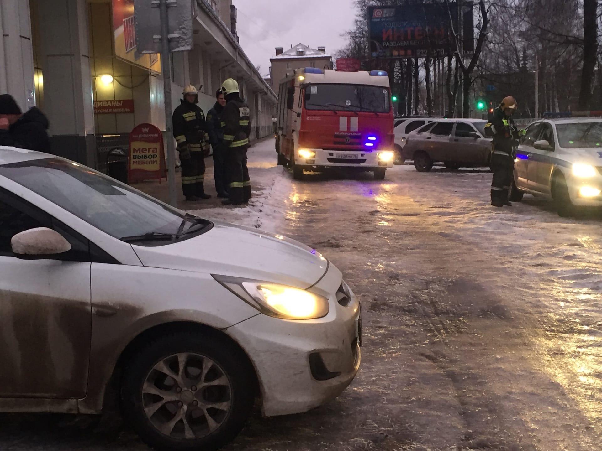 В Рыбинске женщина на иномарке сбила 80-летнюю пенсионерку