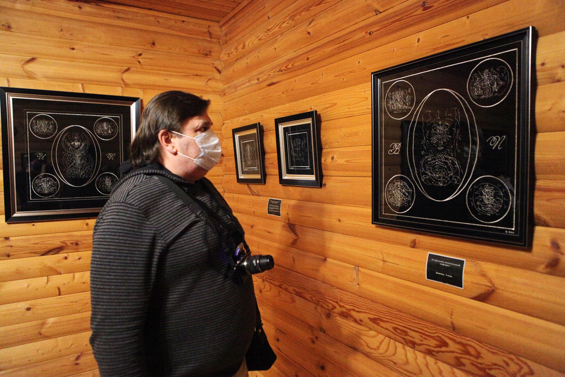 Дом с криптограммами. Ярославская художника изобрела уникальный в масштабах планеты стиль рисунка