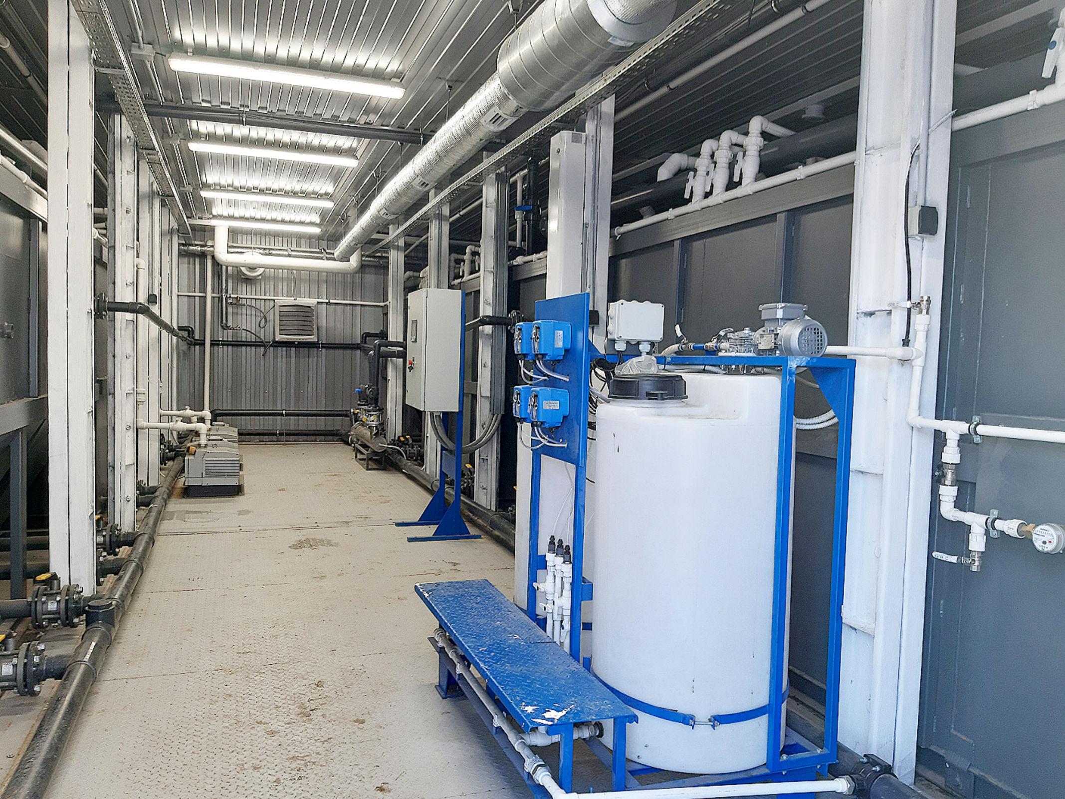 Реконструкция очистных сооружений в поселке Судоверфь проведена в рамках проекта «Оздоровление Волги»