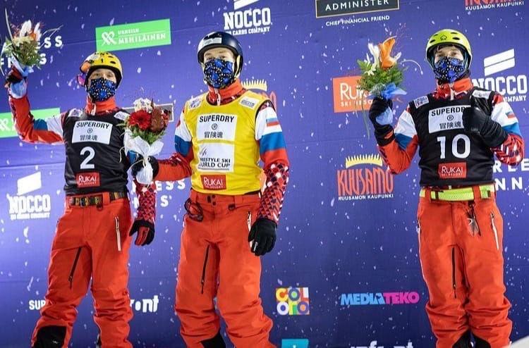 Ярославские фристайлисты заняли весь пьедестал на первом этапе Кубка мира в Финляндии