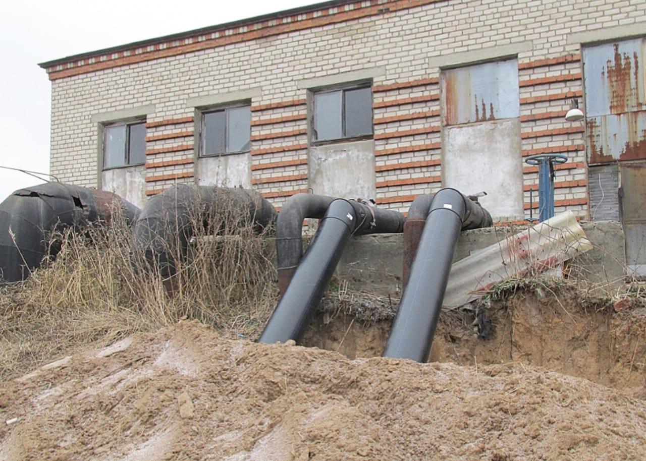 В рамках федерального проекта «Оздоровление Волги» реконструируют очистные сооружения канализации в Угличском районе
