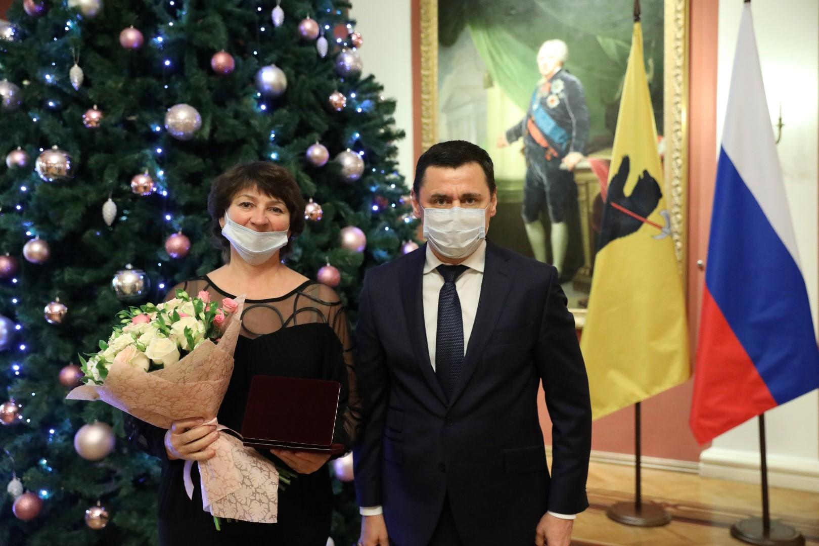 Дмитрий Миронов вручил жителям Ярославской области государственные награды