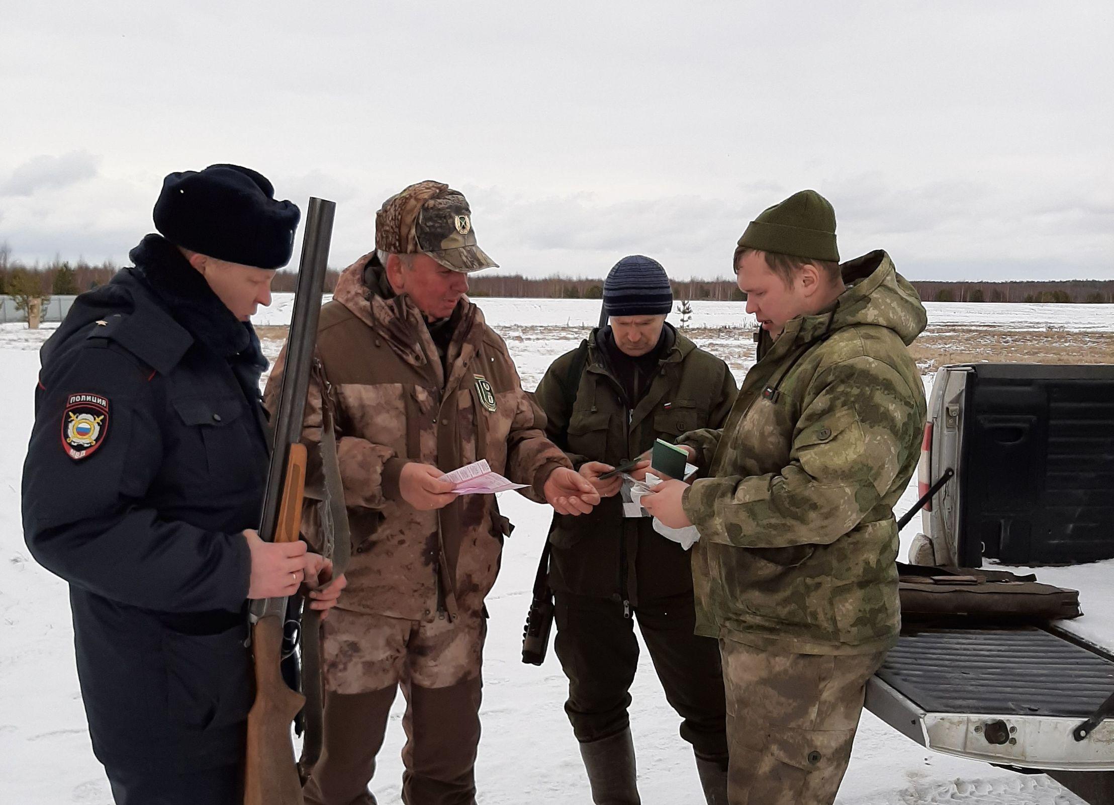 Контроль за охотугодьями Ярославского региона усилен за счет антибраконьерских групп