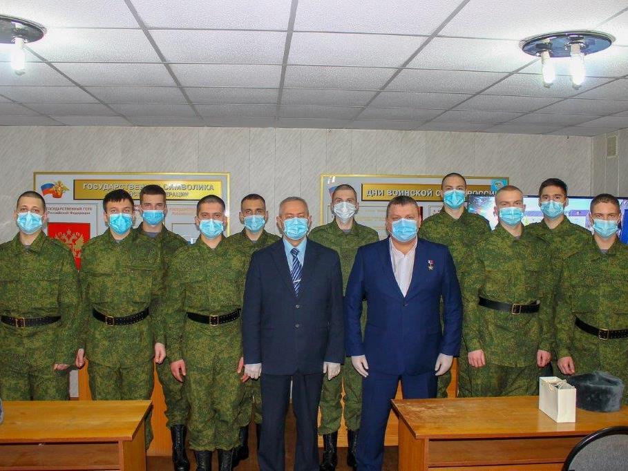 10 ярославских призывников отправились на службу в Президентский полк