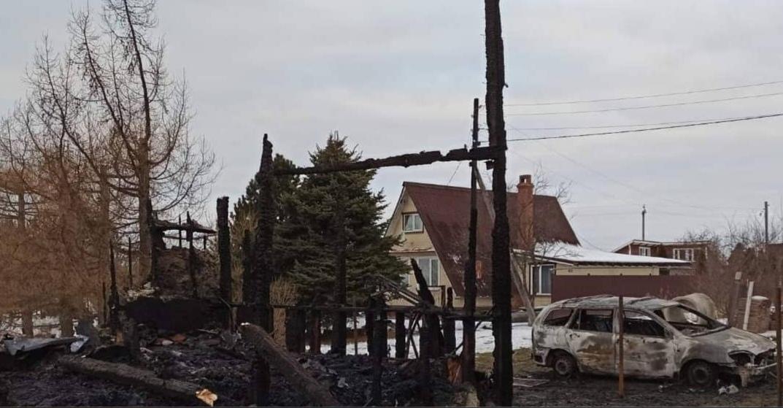 В Ярославской области при пожаре погиб мужчина