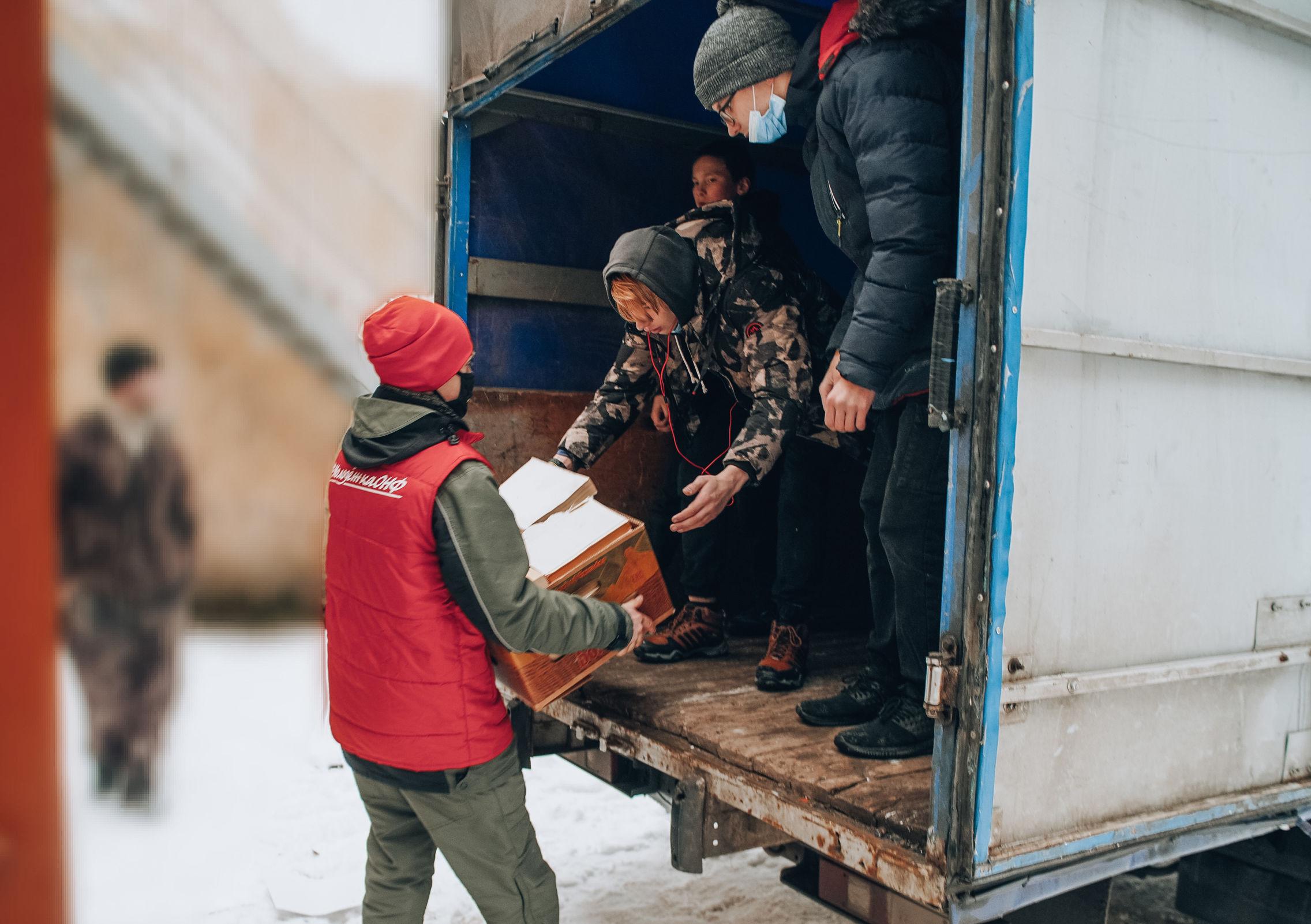 Воспитанники Рыбинского детского дома установили рекорд всероссийской акции #БумБатл