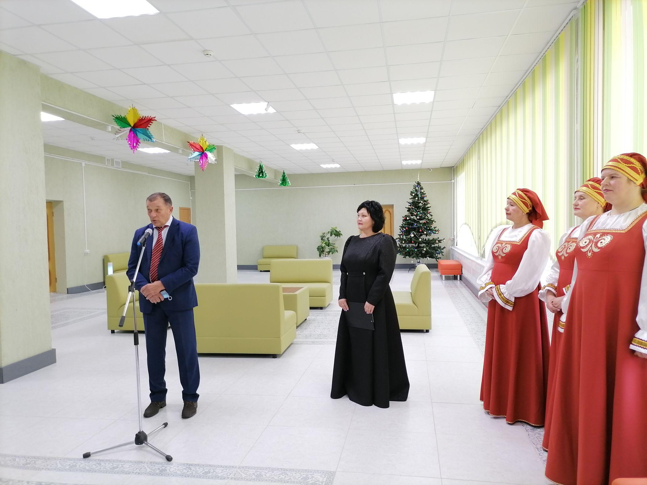 В поселке Отрадном Любимского района открыли отремонтированный Дом культуры