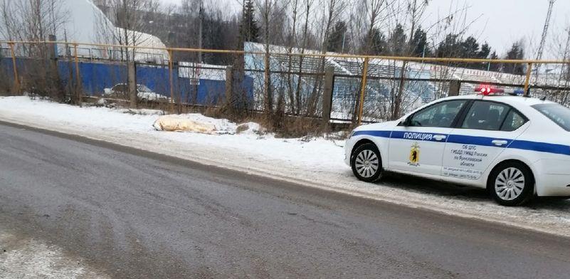 В Ярославле на улице обнаружили тело мужчины