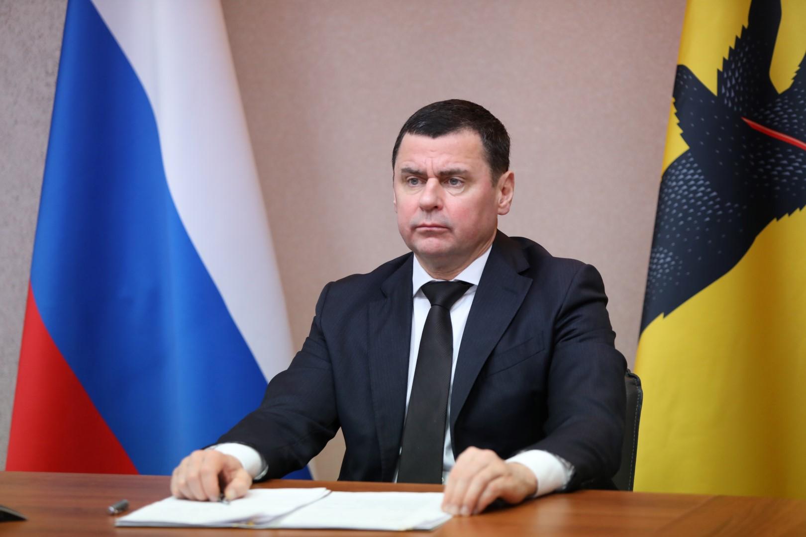 Берегоукрепление, нацпроекты и дороги: Дмитрий Миронов обсудил перспективы развития с главой Рыбинска