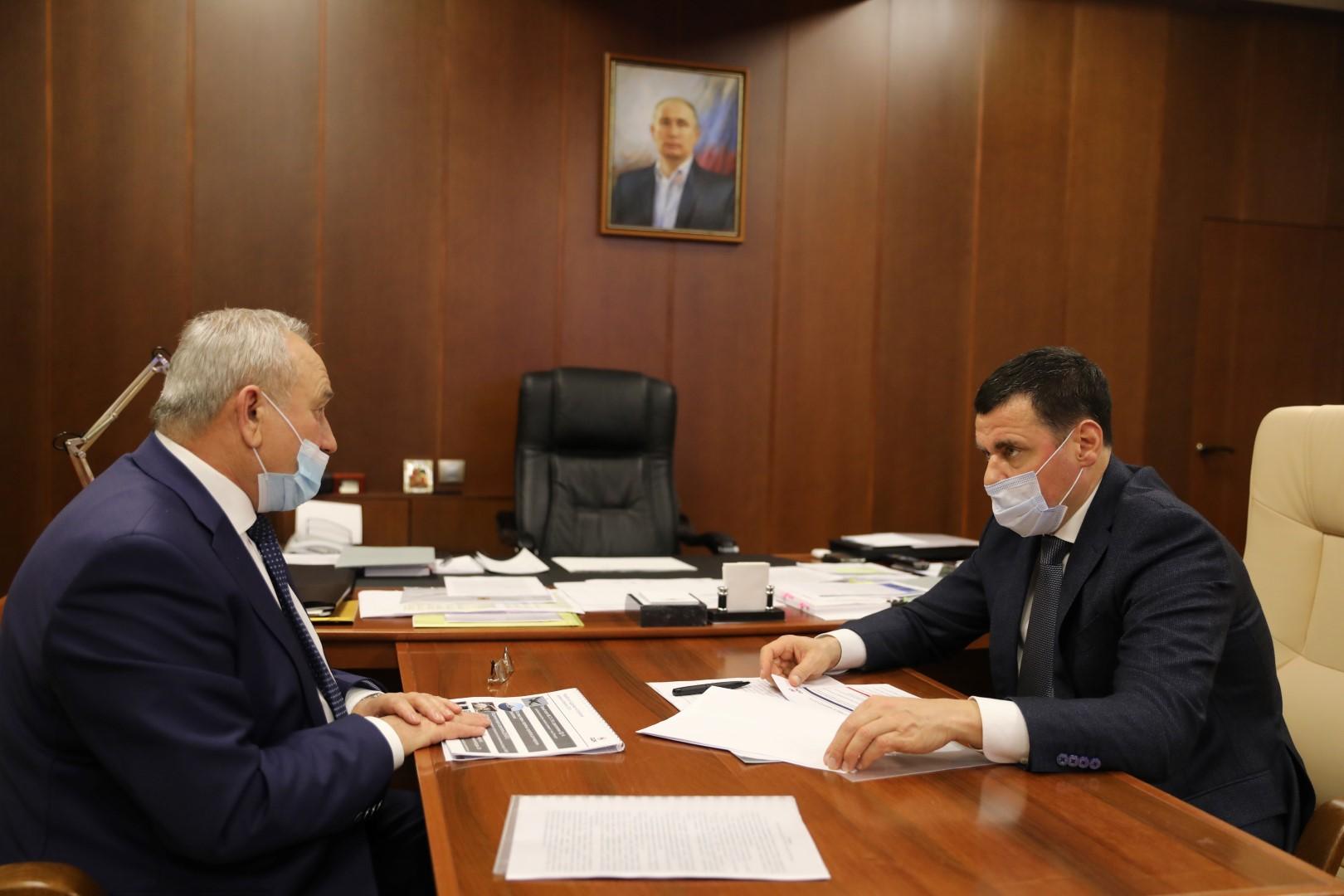 Дмитрий Миронов обсудил с управляющим директором «ОДК-Сатурн» перспективы развития предприятия